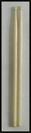 מקלות תופים ראש עץ פאור ביט  POWER BEAT  DSTW/2B