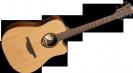 גיטרה אקוסטית מוגברת לג  LAG T400DCE