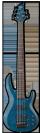 גיטרה בס ESP LTD B-155DX STB