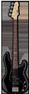 גיטרה בס ESP LTD VINTAGE-214 ROSEWOOD BLK