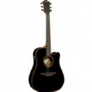 גיטרה אקוסטית מוגברת לג LAG TN100DCE-BLK