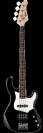 גיטרה בס אקטיבית קורט CORT GB34A BK