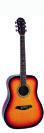 גיטרה אקוסטית אומגה  OMEGA FG-410-S-SB