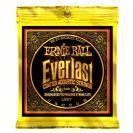 מיתרים ארני בל ERNIE BALL 2558 Everlast Coated 80/20 Acoustic 11-52