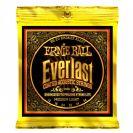 מיתרים ארני בל ERNIE BALL 2556 Everlast Coated 80/20 Acoustic 12-54