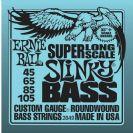 מיתרים לבס ארני בל ERNIE BALL 2849 Slinky Nickel Wound Super Long Scale Bass 45-105
