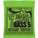 מיתרים לבס ארני בל ERNIE BALL 2836 Regular Slinky Nickel Wound 5-String Bass 45-130