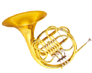 קרן יער (GOLDEN CUP JHFH1901 french horn(three pistones single,lacquer