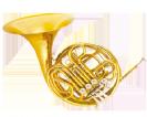 קרן יער (GOLDEN CUP JHFH1903 french horn(four pistones, single lacquer