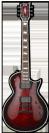 גיטרה חשמלית ESP LTD E-II ECLIPSE QM STBCSB