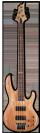 גיטרה בס ESP LTD B-204SM NS