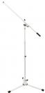 סטנד מיקרופון עם בום בצבע לבן און-סטייג' On-Stage MS7801W
